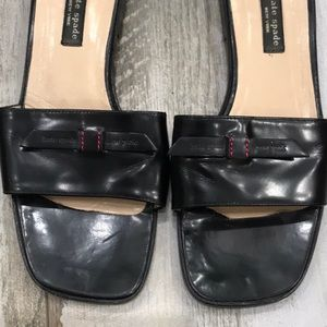 Kate Spade Preppy Black Sandals